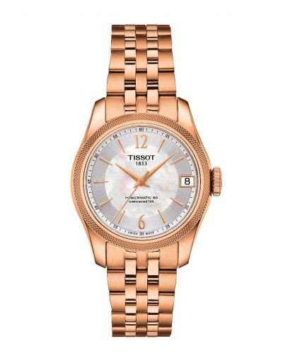 Ballade POWERMATIC 80 COSC White Mother Of Pearl Dial Women's Watch