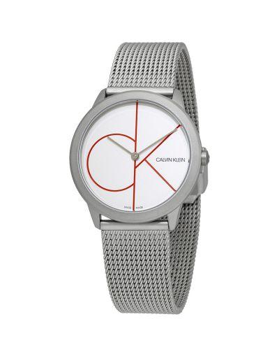 Calvin Klein Minimal Quartz White Dial Ladies Watch