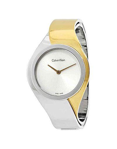 Calvin Klein Senses Silver Dial Women's Watch
