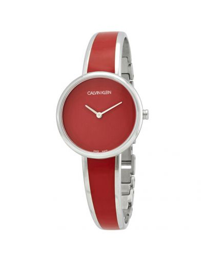Calvin Klein Seduce Quartz Red Dial Women's Watch