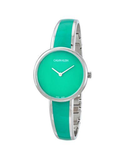 Calvin Klein Seduce Quartz Green Dial Women's Watch