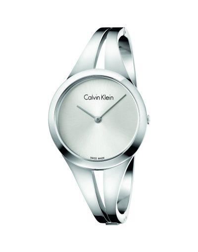 Calvin Klein Addict  Silver Dial Ladies Watch
