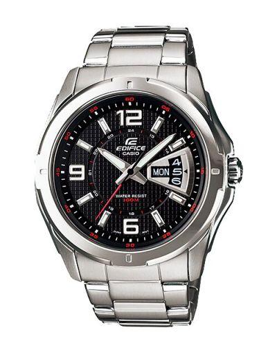 Casio Edifice EF-129D-1AVUDF Black Dial Men's Watch