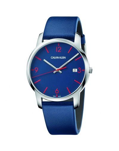 Calvin Klein City Quartz Blue Dial Men's Watch