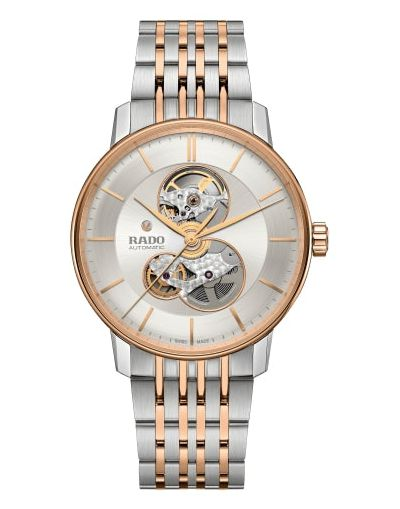 Coupole Classice Open Heart Automatic - Rose Gold Stainless steel / PVD Bracelet Men's Watch