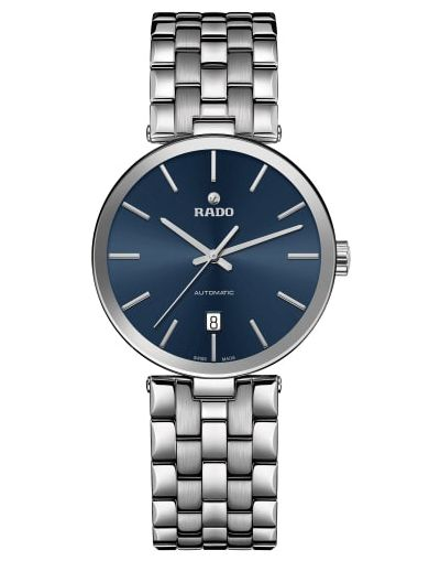 Florence Automatic Blue Dial - Silver Stainless Steel Bracelet Men's Watch