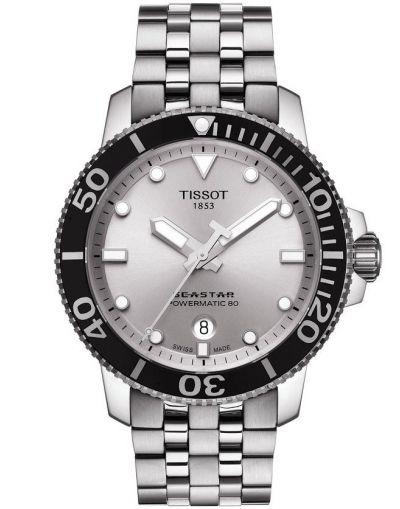 Seastar 1000 Powermatic 80 Silver Dial Men's Watch